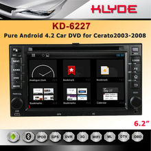 Dashboard Placement car multimedia navigation system with Android 4.2.2 FOR Cerato