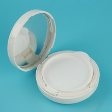 PP ABS Round shape air cushion BB cream case cosmetic powder container