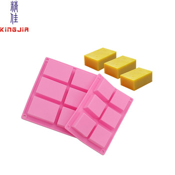 Rectangle Silicon Mold For Soap , Custom Baking Mold Cake Pan For Biscuit & Chocolate