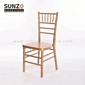 Wholesale Wood Event Banquet Wedding Gold Chiavari Chair
