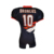 Latest quality custom sublimated polyester american football jersey wholesale