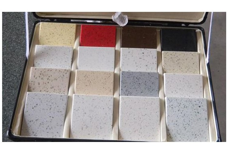 2017 No Color Change High Supply Ability Sandblasted Artificial Quartz Stone