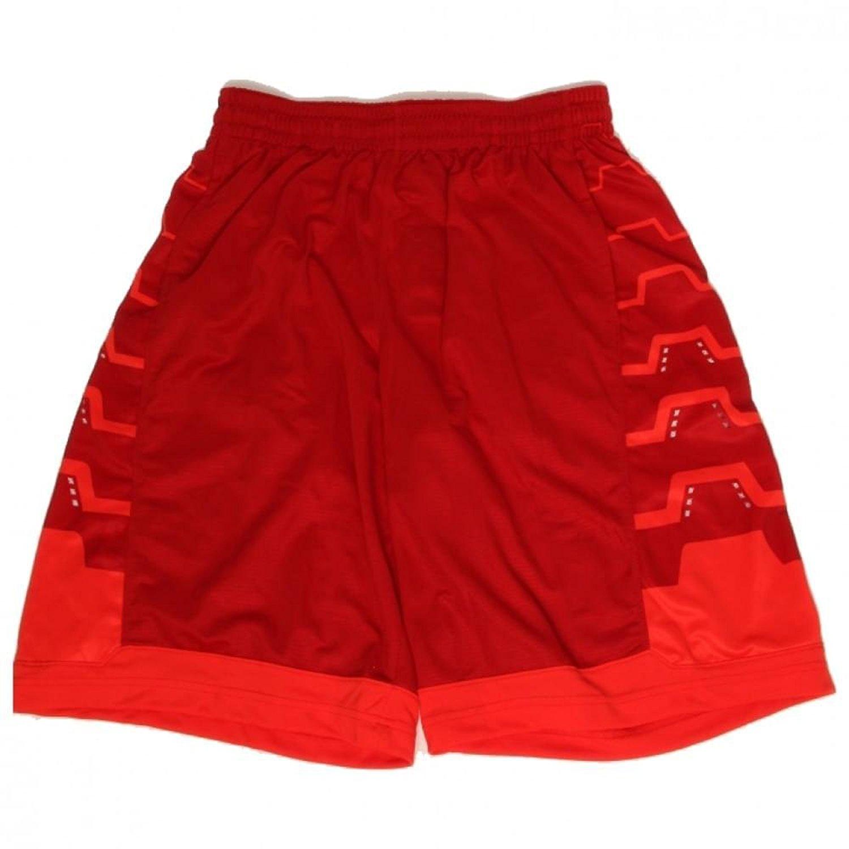 Nike Mens LeBron James Driven DriFit Basketball Shorts Red 596473 610