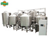 microbrewery 3000liter beer brewing equipment with red copper cladding