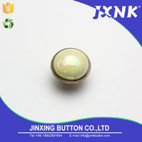Multifunctional round acrylic snap socket button