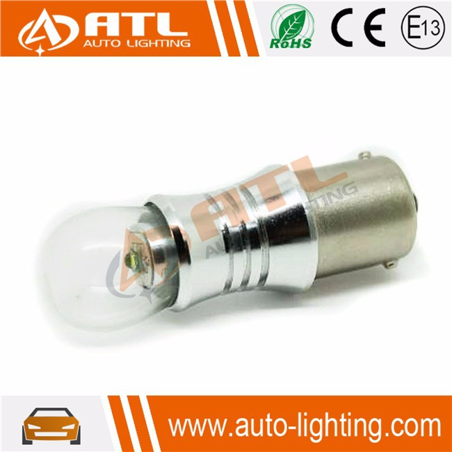 Latest high bright led chip XPE T20,S25,FOG glass cover 3157 led car bulb