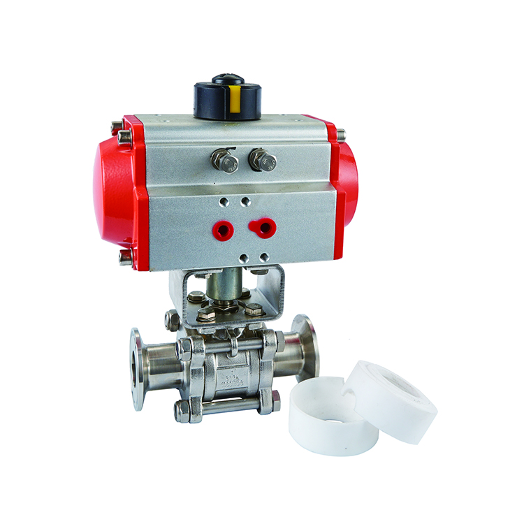electric stainless steel sanitary ss mini 4 inch motorized 1 inch 1.5 inch ball valve with electric actuator