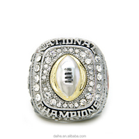 Daihe 2015 Ohio State National America Football championship ring custom for team