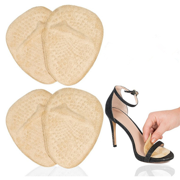 Gel Pad Arch Metatarsal Support Massage Insoles For High-Heels Sandal Shoes
