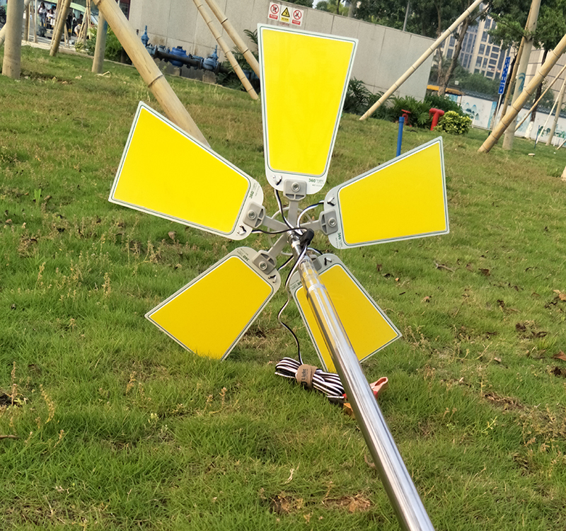 Telescopic Fishing Rod LED Lantern Outdoor Camping High Light BBQ Quality O1W1