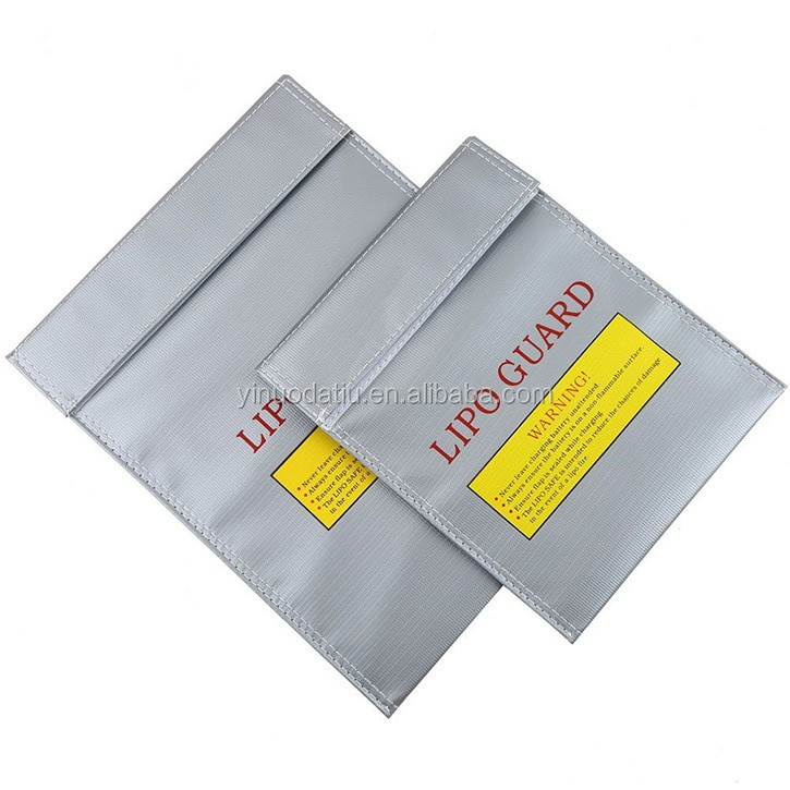 wholesale promotion silver safe charging mobile phone bags fireproof