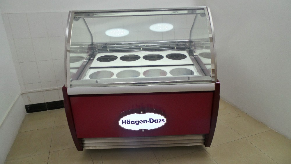 Franchise Popsicle Cabinet Ice Cream Dipping Cabinet For Sale ...