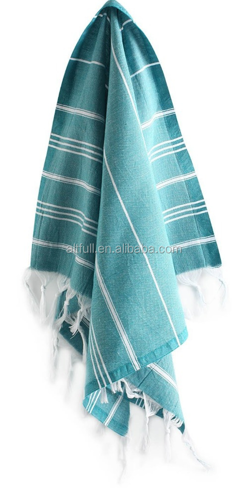 "China supplier and hot sale 100% cotton Hand and Face Turkish Towel Pestemal 23x36"" Peshtemal Fouta Kitchen Baby Care"