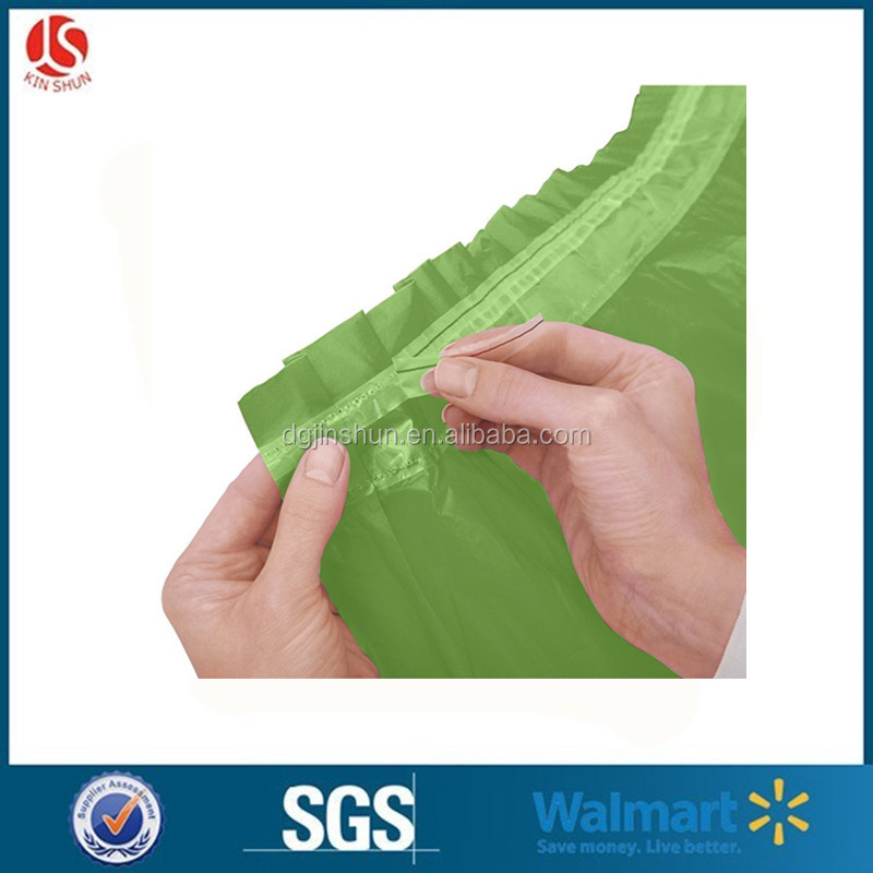 "cheap wholesale ruffled plastic fitted table skirt 29""x14' with sticky glue"