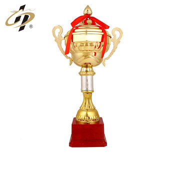 High-end custom zinc alloy metal enamel logo gold patriotism souvenir trophy