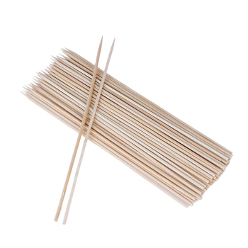FSC bbq roasting bbq sticks marshmallow bamboo wooden chicken skewers