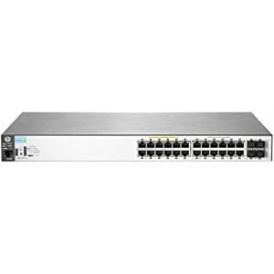 HP 2530-24G-PoE+ Switch - 24 Ports - Manageable - 24 x POE+ - 4 x Expansion Slots - 10/100/1000Base-T - PoE Ports - Desktop, Rack-mountable, Wall Mountable J9773A#ABA