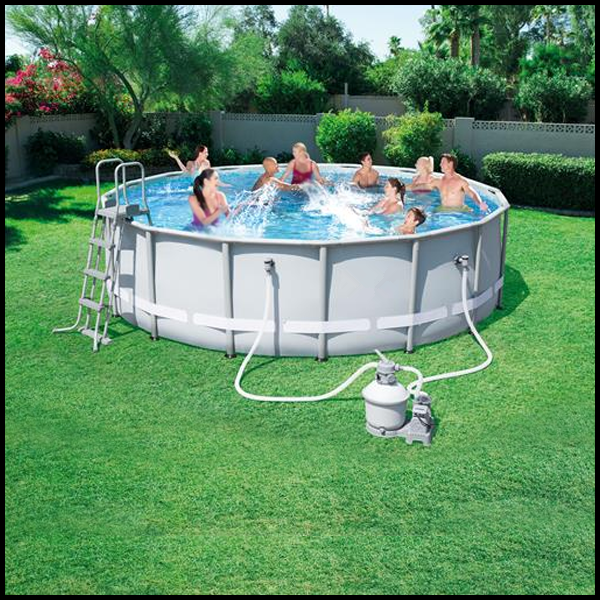 Garden furniture outdoor family water frame swimming pool 56452 summer adult swim pool