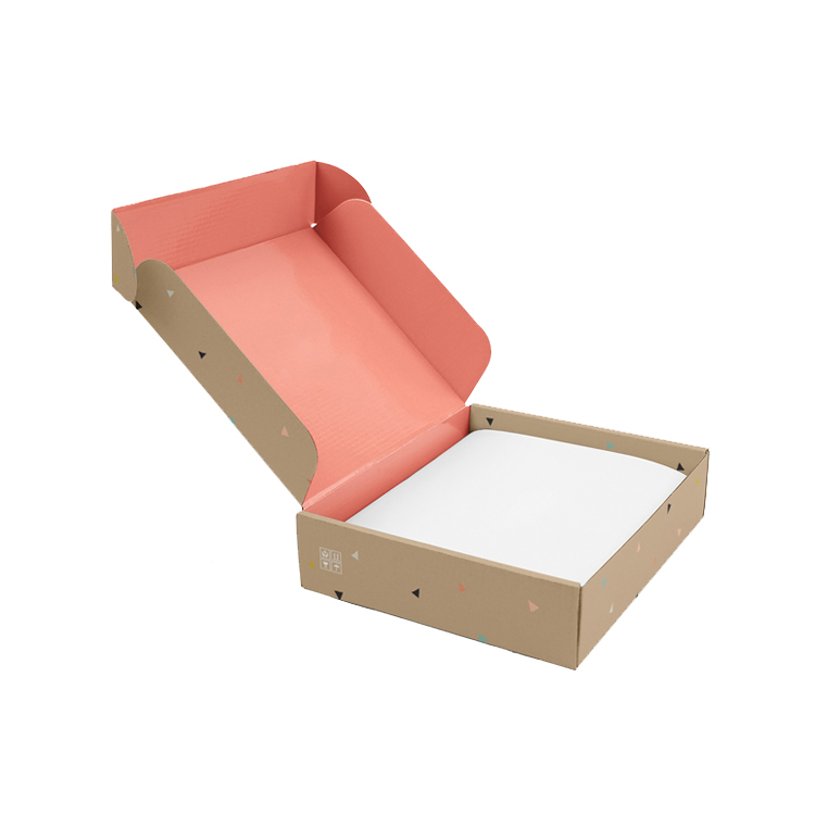 custom electronic products box flower gift box strong heavy-duty corrugated cardboard logistics industry Corrugated folding box