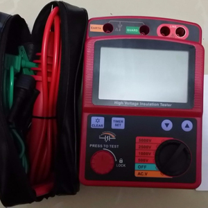 HIGH QUALITY BRIGHT COLOR megger insulation tester