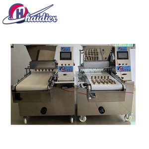 Easy change the mold cookie dough extruder,drop wire cutting cookies machine