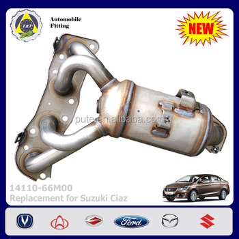 Car Accessories 14110-66m00 Exhaust Manifold For Suzuki Ciaz - Buy Exhaust  Manifold,14110-66m00,Exhaust Manifold For Suzuki Ciaz Product on