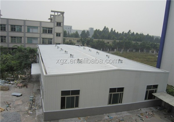 prebuilt fast erection curved roof design structural steel shed