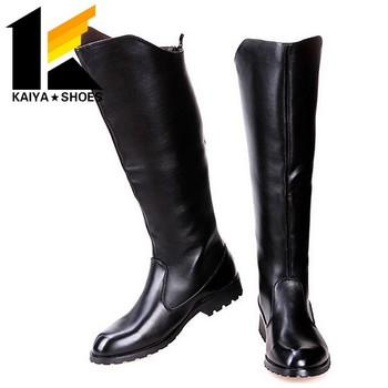 588042f85 Long Boots Back Zipper Boots For Men - Buy Back Zipper Boots,First ...