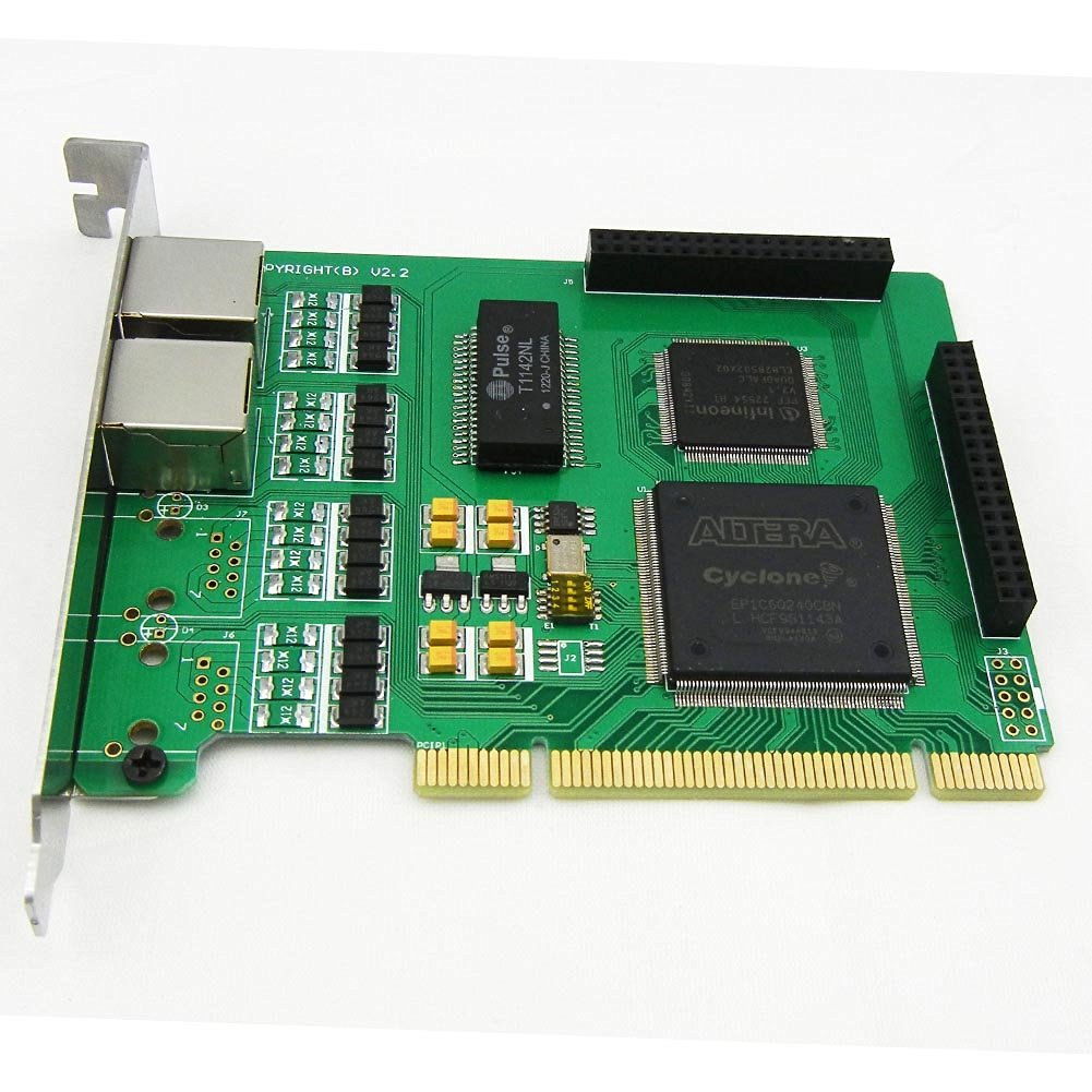 Dual Spans Selectable E1 or T1 Pci Card Suitable for Asterisk Based Applications