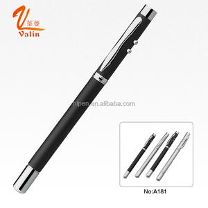 School stationery laser pointer light pen for projector with retract and telescoping teacher pointer