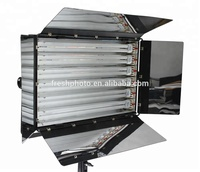Christmas discount 6*55W stage light warm 3200K cool 5500K camera fluorescent light for tv studio