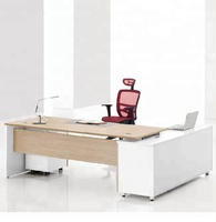 Top Quality Office Furniture Desk Wooden Furniture CEO manager table design