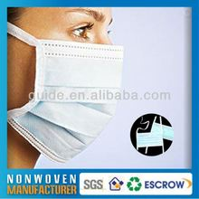 Fabric Medical Face Mask Pattern Hospital 3 Ply Surgical Face Mask