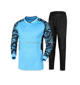 Wholesale Thailand Quality Breathable Blank Goal Keeper Shirt