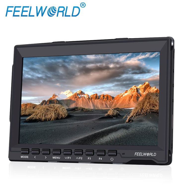 "Portable ultrathin IPS panel 1280x800 resolution led lcd hdmi av input suanshade inch 7"" bmcc cinema camera monitor"