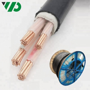 Low Voltage 4 core 16mm2 Copper Wire Underground Armored Power Cable