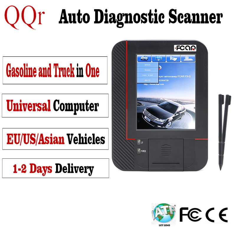 12 V 24 V Professionele Universele Auto Scanner Obd2 TPMS Reset Auto Truck Diagnostic Tool Voor Nissan Ud Toyota Ssangyong Scania