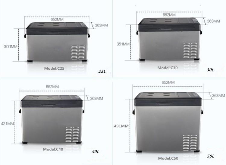 Auto Kühlschrank Mit Gefrierfach : Großhandel 30 liter mini kühlschrank gefrierschrank für auto kleine