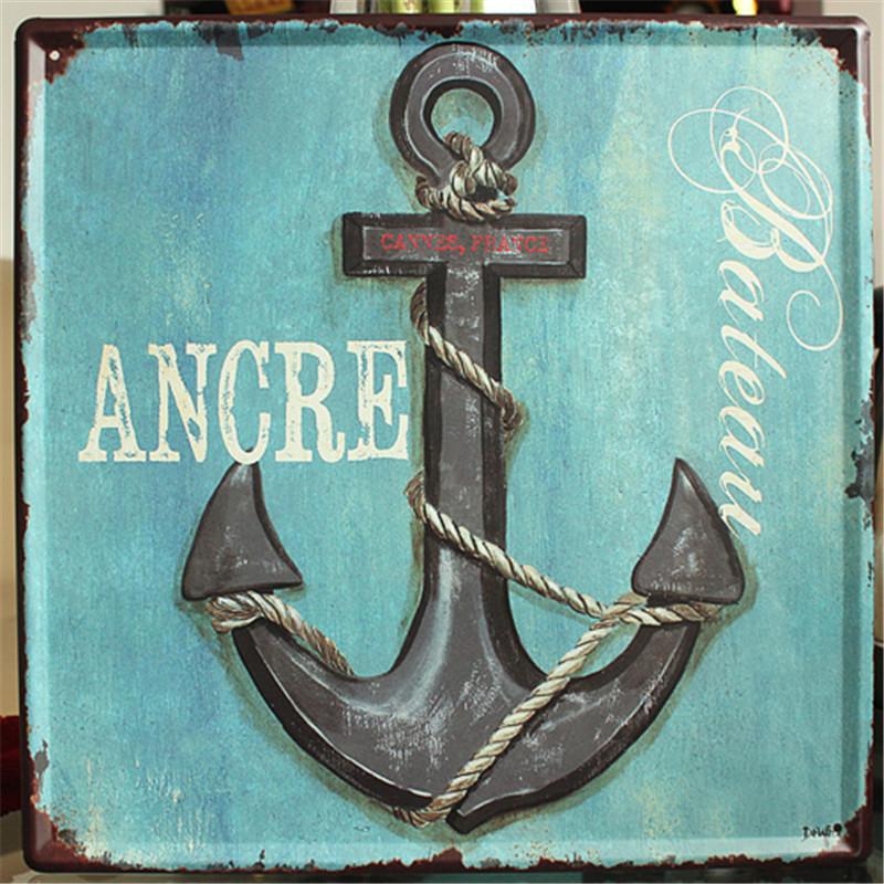 Popular Vintage Nautical Signs-Buy Cheap Vintage Nautical