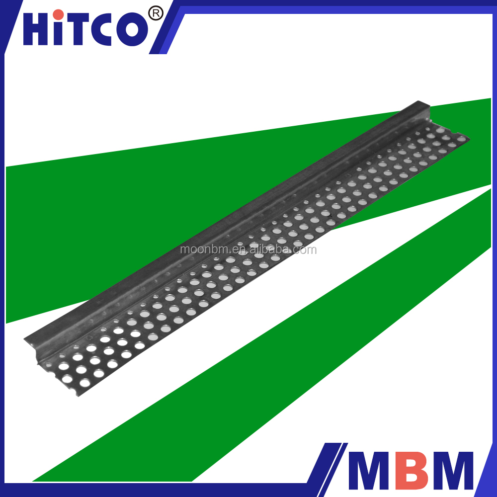 China supply Galvanized Steel metal tile perforated angle bead