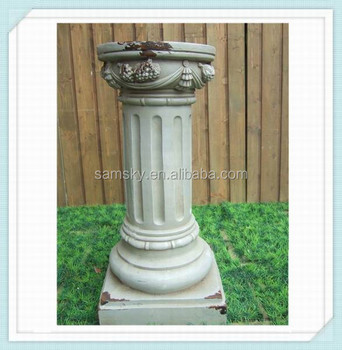 antique round wedding pillars columns for sale
