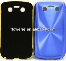 FL2273 2013 Guangzhou hot selling gold aluminium cd pattern back cover phone case for blackberry 9700