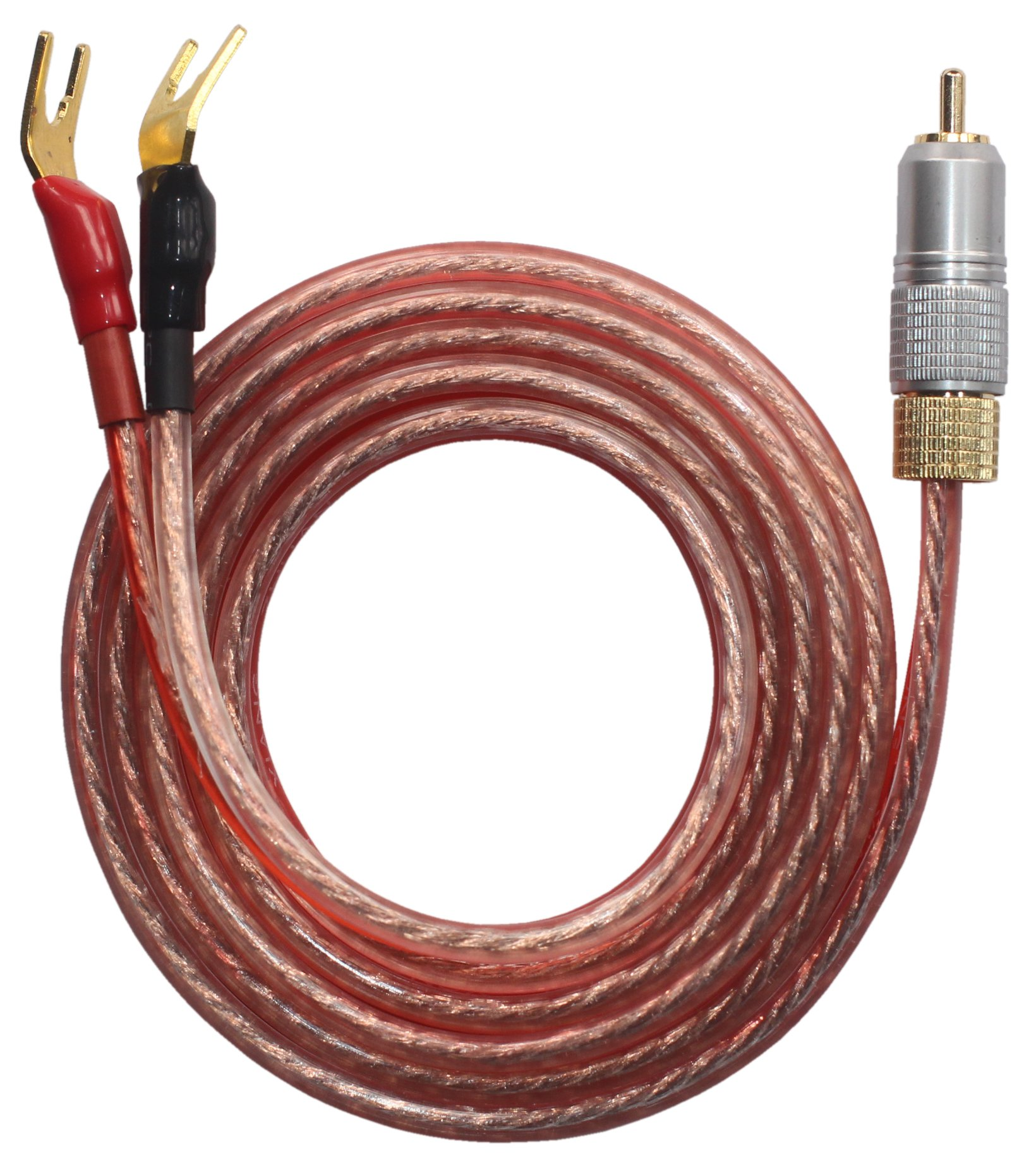 Cheap Wire Rca Plug Find Deals On Line At Alibabacom 25 Female Mono Jack Wiring Get Quotations Kr Ry Speaker Pair With Male To 2 Spade