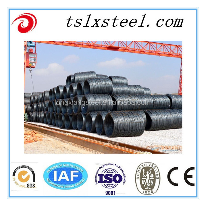 High Quality Tangshan Galvanized Wire/ Gi Wire and Steel Wire Rod