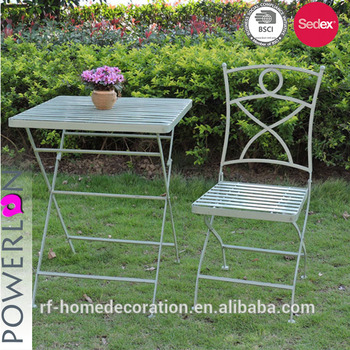 Outdoor Antique Green Wrought Iron Garden Line Patio Furniture Product On