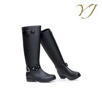 2016 new design your own rain boots wholesale ladies pvc rain boots