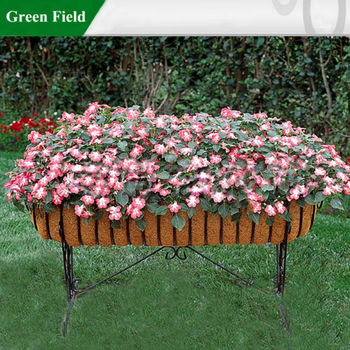 Decorative Metal Gardening Patio Flower Pots Planter,Metal Patio Flower Pot