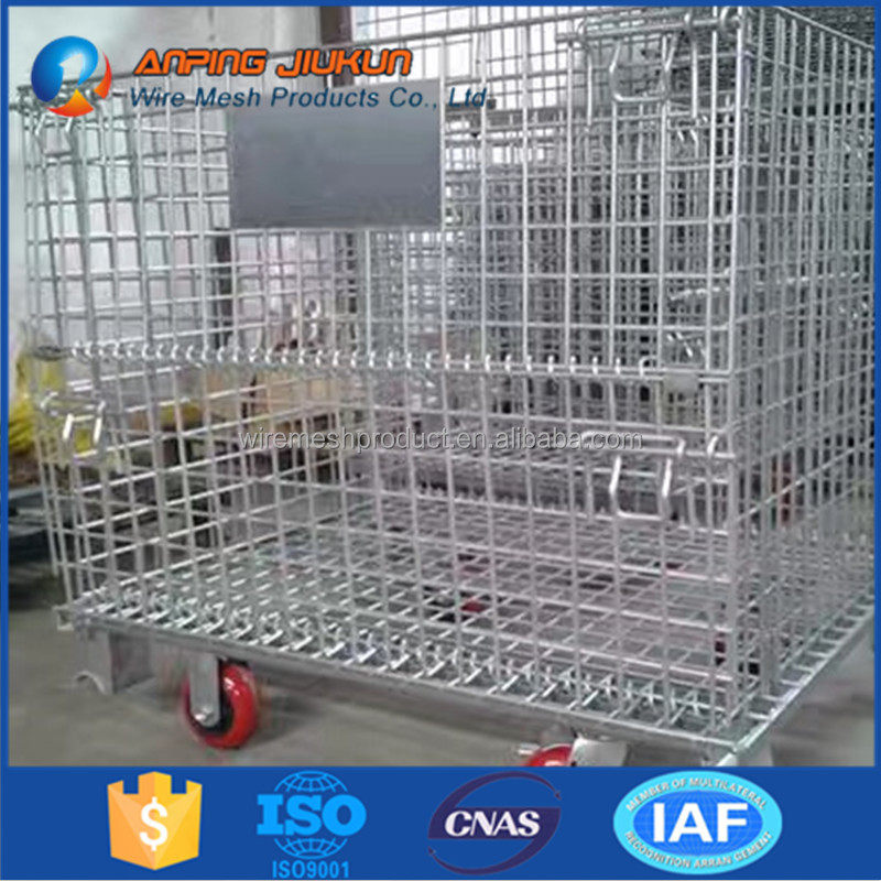 multifunctional wire storage basket with wheels