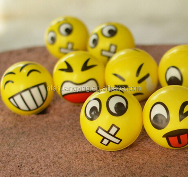 Face Emoji Stress Ball,Diy Anti Pu Stress Ball,Cheap Bulk Stress ...