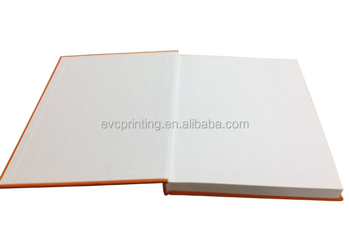 golden gilt edges hardcover book with silk screen printing